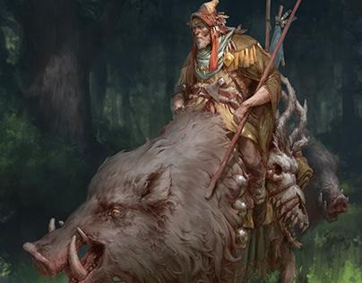 Boar rider