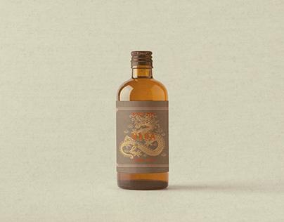 Minyak Urut Naga Massage oil - Branding
