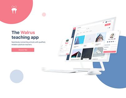 Walrus - Teaching App