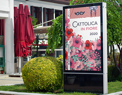 Branding for the festival of flowers in Cattolica Italy