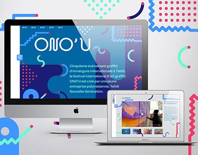 Web design - Projet étudiant