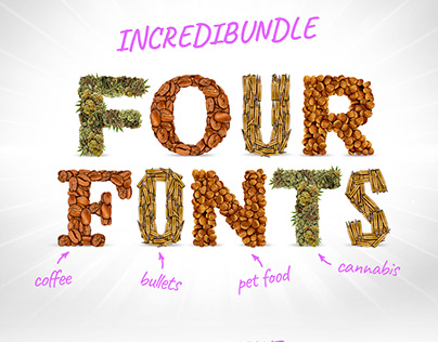 Four Fonts - Special Offer