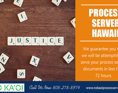Process Server in Hawaii