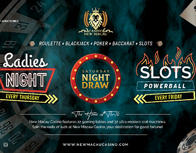 Leaflet Design Casino