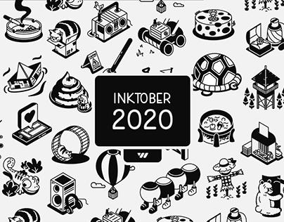 Inktober 2020 | 2D Animation Edition | Victor Valiente