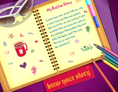 Microsite for Café Coffee Day
