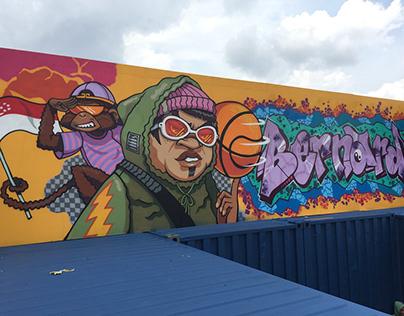 Crazy Rich Asians - Graffiti