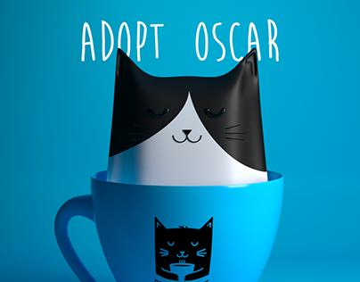 Adopt, don't shop. Beirut Cat Cafe Initiative.