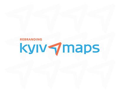 Redesign of visual identity   Kyiv Maps