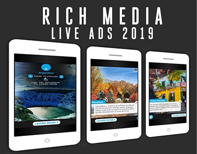 Rich Media Live Ads 2019