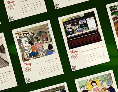 WHAT'S SO FUN AT SCHOOL? | 2021 calendar