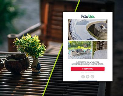 UX/UI Social Media Design PatioVida V1.0