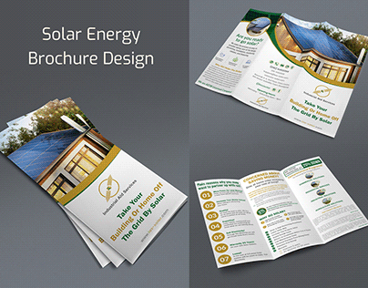 Solar Company Brochure Design