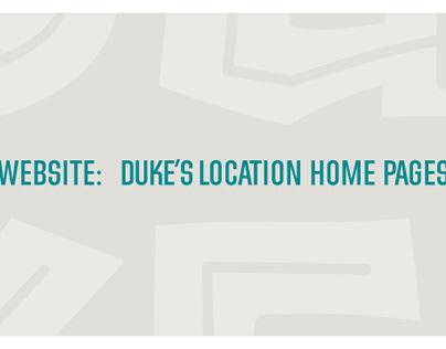 Website | Duke's Restaurants
