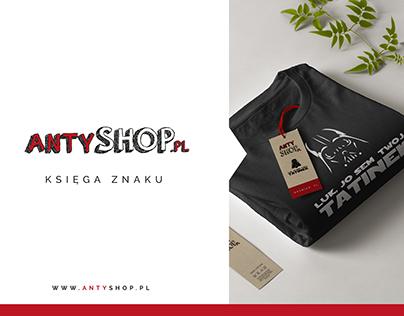 ANTYSHOP.pl - Brand Book