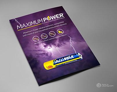 """AllMax """"Maximum Power"""""""