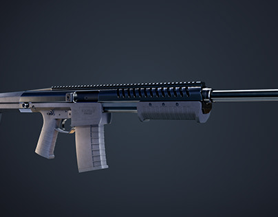 Automatic shotgun weapon system animation