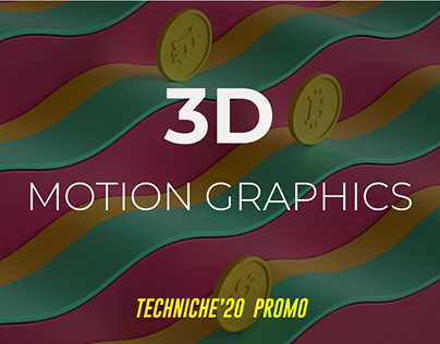 3D Motion Graphics | Techniche'20 Promo