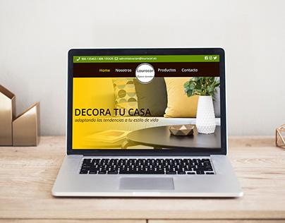 Lourocor - Sitio Web - España