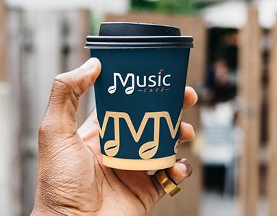 Разработка логотипа и брендбука для Music Cafe