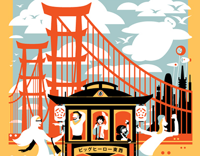 Enjoy San Fransokyo - Big Hero 6