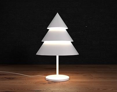 """Сhristmas tree"" table lamp"