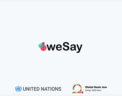 WeSay, for the United Nations Global Goals Jam 2016