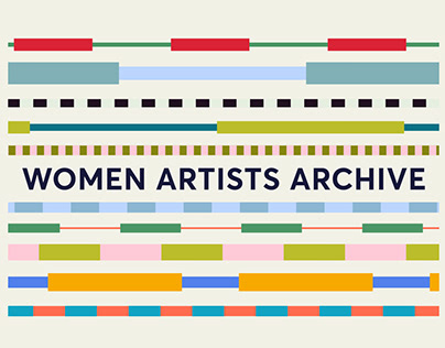 Women Artists Archive | Identity | Graphic System