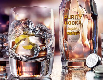 Purity Vodka Still-Life