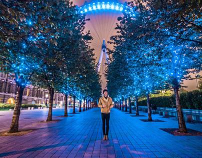 Portraits / London by night