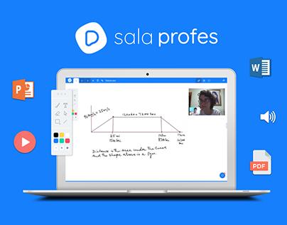Profes - Sala virtual para aulas particulares