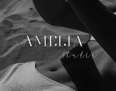 swimwear studio logo   AMELIA