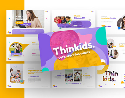 Thinkids – Education Powerpoint and Keynote Template