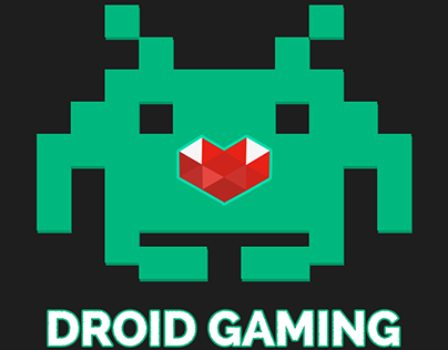 """Droid Gaming"" Logo Design"