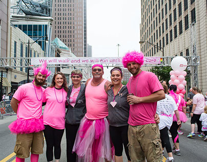 Susan G. Komen Breast Cancer race Columbus, Oh. 5-20-17