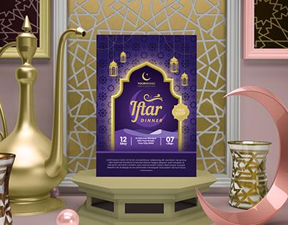 Ramadan Iftari Flyer Design