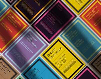 Rediseño editorial de Biblioteca Nueva