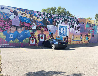 A.C.C. Community Center - Sponsored Team Mural