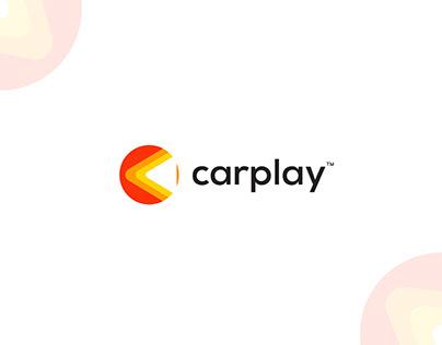 Carplay logo design (C letter mark)