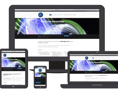Webdesign für ein Unternehmerinnen - Netzwerk