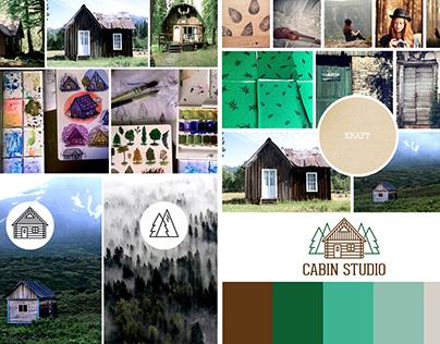 Cabin Studio - Logotipo e Identidade Visual
