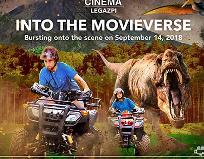 SM CINEMA LEGAZPI : INTO THE MOVIEVERSE POSTER AD