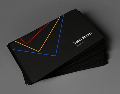 Bussiness Card of a Designer