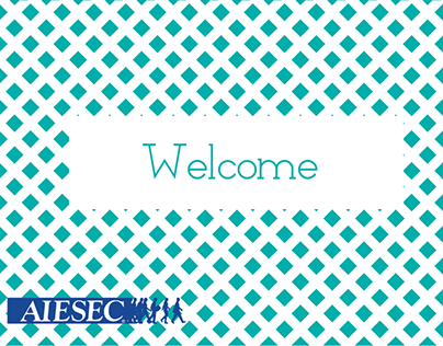 Welcome Booklet Template | AIESEC in Italy