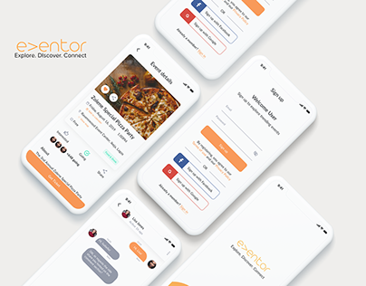 A UX Case study- Eventor