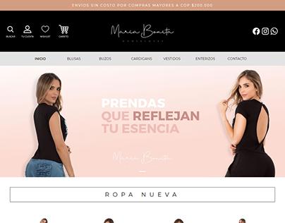 Theme WordPress Eres Maria Bonita