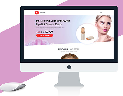 Landing Page Product - One Page