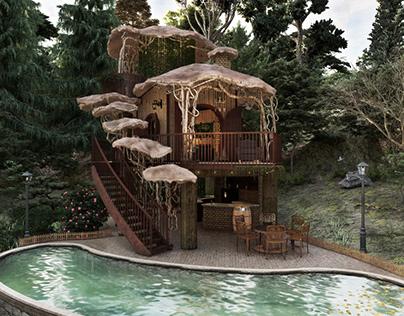 Elf Cottage by Françarq Arquitetura / Gustavo França