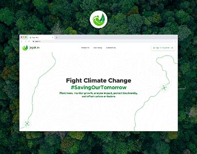 Jejak.in Landing Page