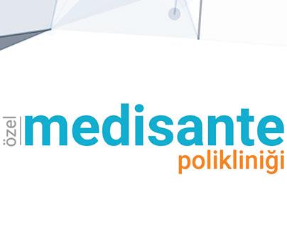 Medisante corporate identity